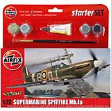 """Подарочный набор Airfix """"Самолет Supermarine Spitfire MkIa """" 1:72"""