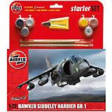 """Подарочный набор Airfix """"Самолет Hawker Harrier GR1"""" 1:72"""
