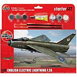 """Подарочный набор  Airfix """"Истребитель English Electric Lightning F.2A"""" 1:72"""