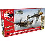 "Подарочный набор ""Самолеты Spitfire MkIa and Messerschmitt Bf109E-4 Dogfight"" 1:72"