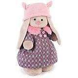 Мягкая игрушка Budi Basa Зайка Ми в пальто и розовой шапке, 32 см