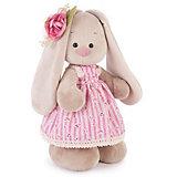 Мягкая игрушка Budi Basa Зайка Ми в деревенском платье, 32 см