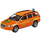 Машина 1:36 Volvo V70 Техпомощь, свет, звук, откр.двери, 13см
