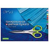 Набор цветной бумаги № 15 Альт А3, 10 листов (тонированная)