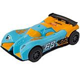 Машинка для трэка KidzTech, Hot Wheels, 1:43 -#2 (Сине-оранжевая)