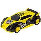 Машинка для трэка KidzTech, Hot Wheels, 1:43-#4 (Желто-фиолетовая)