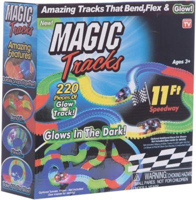 """Гибкий трек Magic Tracks """"Ontel"""", 220 деталей (светящиеся детали)"""