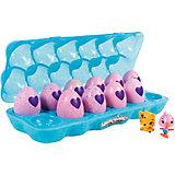 """Коллекционные фигурки Spin Master """"Hatchimals"""" в голубой коробке, 12 штук"""