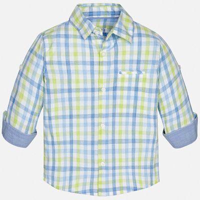 Рубашка Mayoral для мальчика - зеленый