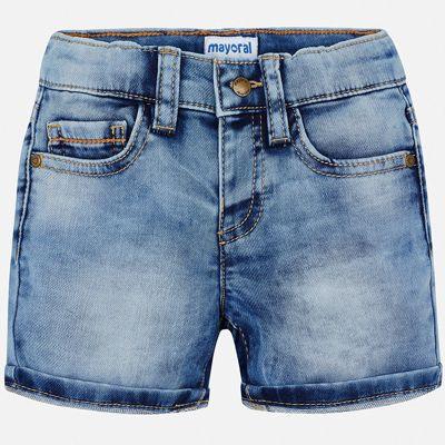 Шорты джинсовые Mayoral для мальчика - белый