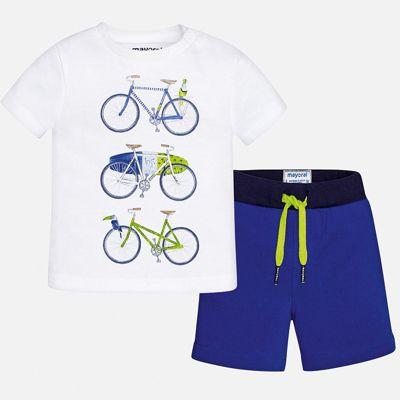 Комплект:футболка,брюки Mayoral для мальчика - синий