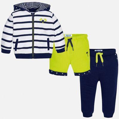 Спортивный костюм Mayoral для мальчика - зеленый
