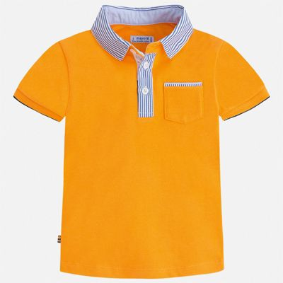 Футболка-поло Mayoral для мальчика - желтый