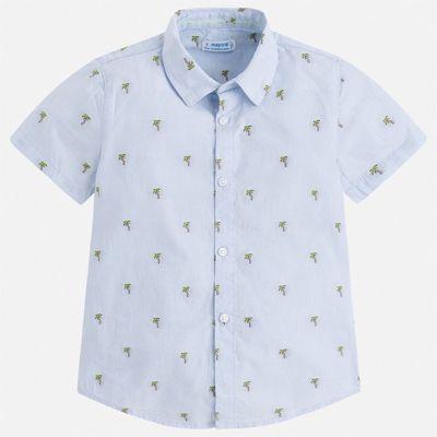 Рубашка Mayoral для мальчика - голубой