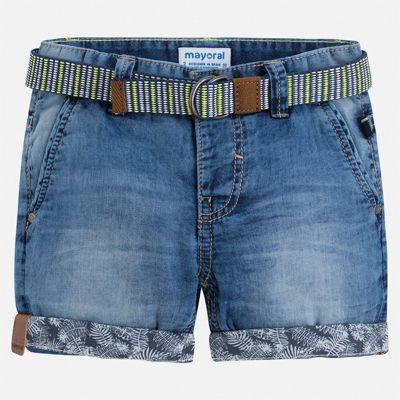 Шорты джинсовые Mayoral для мальчика - синий
