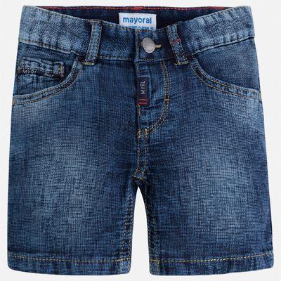 Шорты джинсовые Mayoral для мальчика - голубой