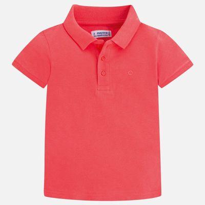 Футболка-поло Mayoral для мальчика - бордовый