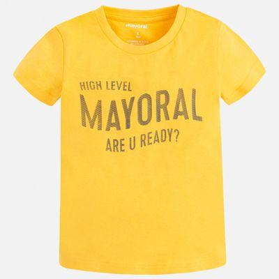 Футболка Mayoral для мальчика - желтый