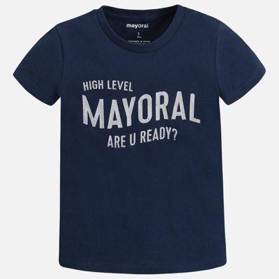 Футболка Mayoral для мальчика - синий