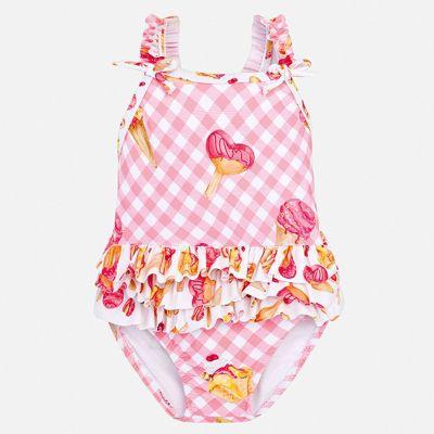 Купальник Mayoral для девочки - розовый