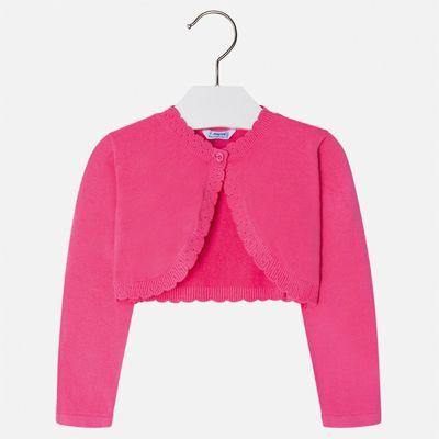 Жакет Mayoral для девочки - розовый