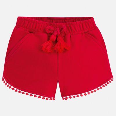 Шорты Mayoral для девочки - красный