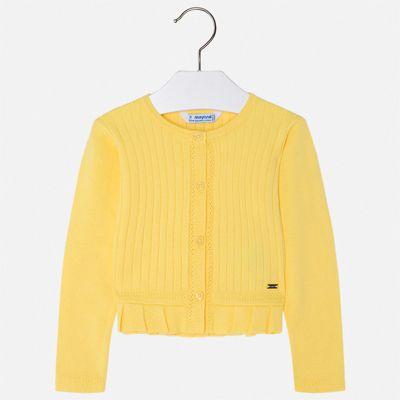 Кардиган Mayoral для девочки - желтый