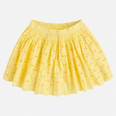 Юбка Mayoral для девочки - желтый