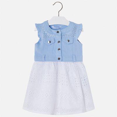 Платье Mayoral для девочки - голубой