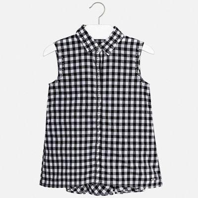 Блуза Mayoral для девочки - черный