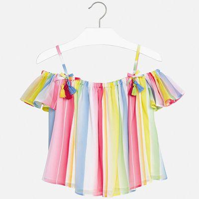 Блуза Mayoral для девочки - розовый