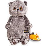 Мягкая игрушка Budi Basa Кот Басик и мышка, 22 см