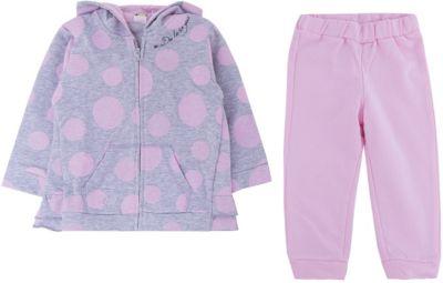 Спортивный костюм iDO для девочки - розовый