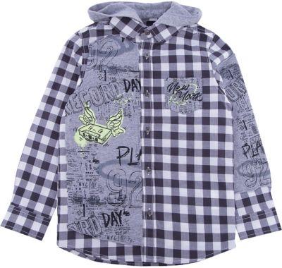 Рубашка iDO для мальчика - черный