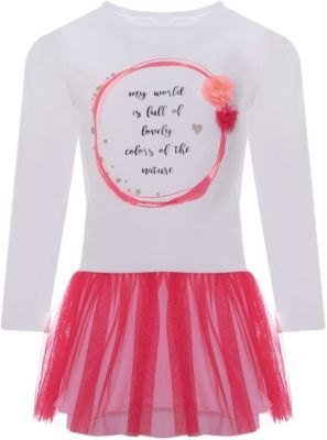 Платье iDO для девочки - белый