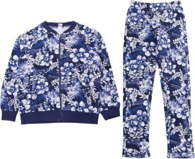 Спортивный костюм iDO для девочки - голубой