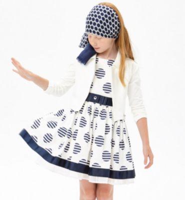 Платье iDO для девочки - бежевый