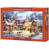 """Пазл Castorland """"Праздник Рождества"""" 1500 деталей"""