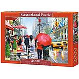 """Пазл Castorland """"Кафе, Нью-Йорк"""" 2000 деталей"""