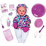 "Интерактивная кукла Zapf Creation ""Baby Born"", зимняя пора, 43 см"