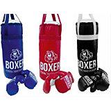 """Игровой набор для бокса """"Боксер  №4"""",  60 см, в ассортименте"""