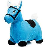 Лошадка-попрыгунчик Shantou Gepai, голубая