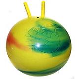 """Мяч с рогами """"Радужный"""", 55 см"""