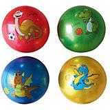 """Детский мяч Shantou Gepai """"Динозаврик"""", 22 см, латексный"""