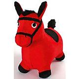Лошадка-попрыгунчик Shantou Gepai, красная