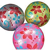 """Мяч Shantou Gepai  """"Цветочки"""", 22 см, в ассортименте"""
