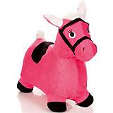 Лошадка-попрыгунчик Shantou Gepai, розовая