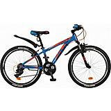 "Велосипед Novatrack 24"" EXTREME, синий"