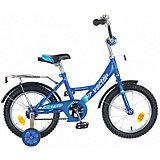 """Велосипед Novatrack 14"""", Vector, синий"""