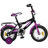 """Велосипед Novatrack 12"""", COSMIC, черный"""